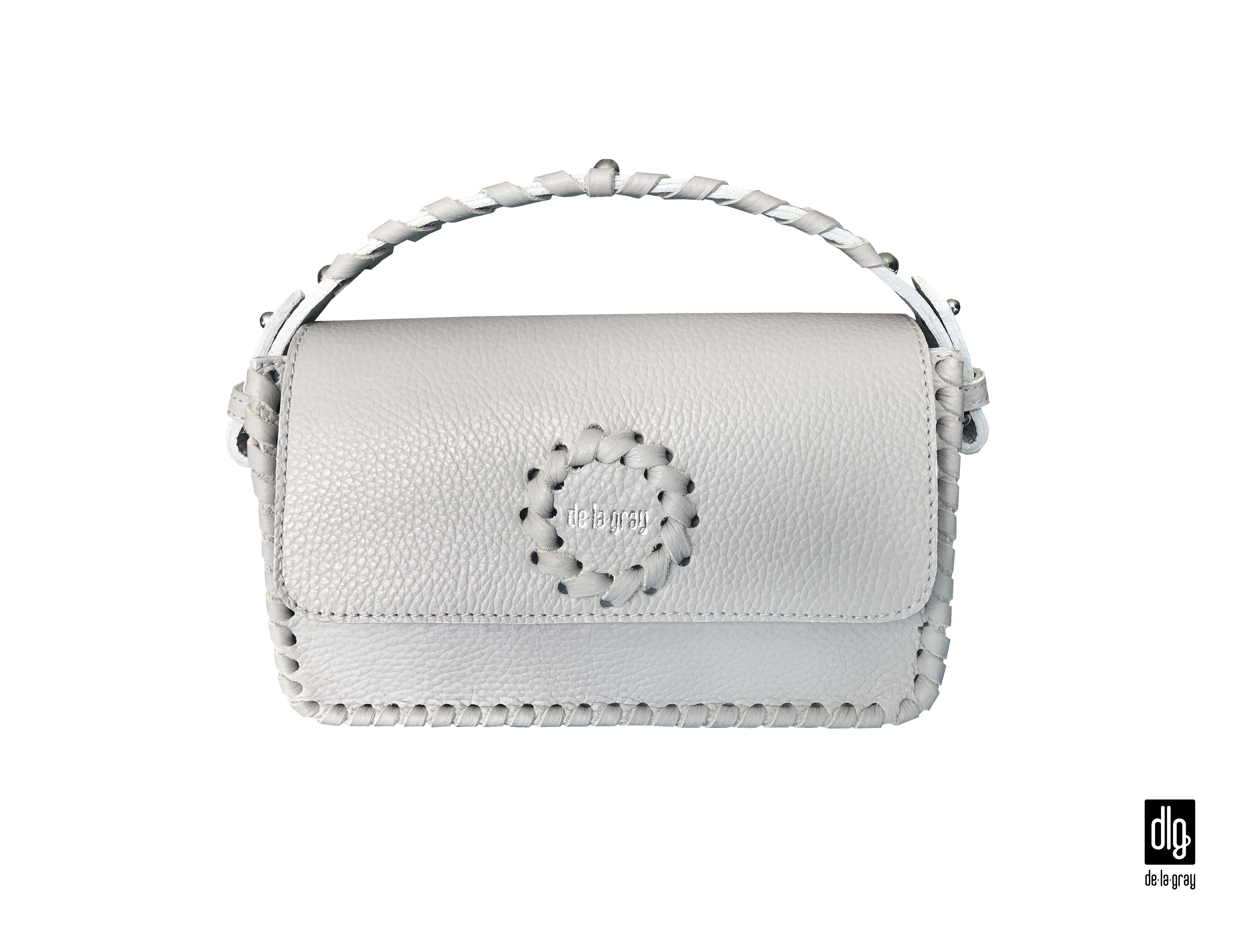 IconicCircle grey crossbody kabelka
